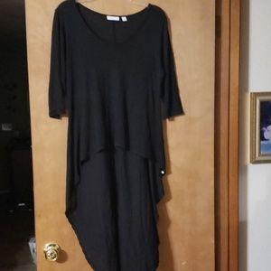 Black high low t-shirt